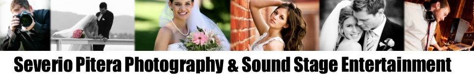 Sound Stage Ent & Severio Pitera Photography Logo